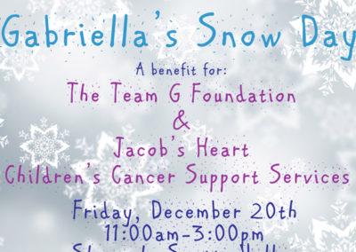 Gabriella's Snow Day 2013