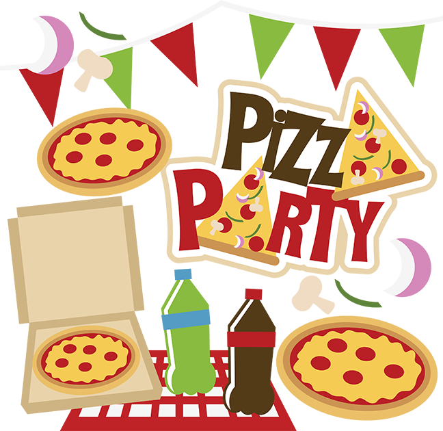 Pizza Party for Coin Drive Winners!