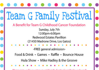Team G Family Festival!!